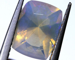 1.25 CTS LIGHTNING RIDGE FACETED CRYSTAL OPAL TBO-A2614