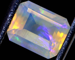 1 CTS LIGHTNING RIDGE FACETED CRYSTAL OPAL TBO-A2623