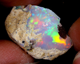 16cts Natural Ethiopian Welo Rough Opal / WR6516