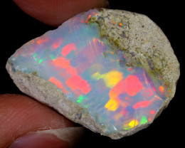 18cts Natural Ethiopian Welo Rough Opal / WR6542