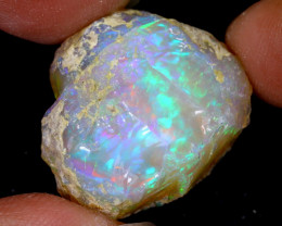 30cts Natural Ethiopian Welo Rough Opal / WR6547