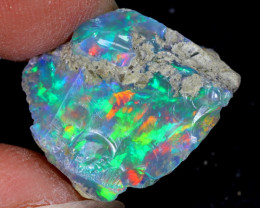13cts Natural Ethiopian Welo Rough Opal / WR6548