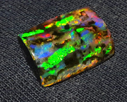3.50 CRT RARE OPALIZED WOOD FOSSIL INDONESIAN WONDERFULL DELUXE COLOR