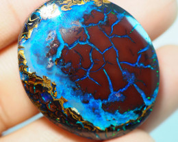 53.85CTS GEM  YOWAH OPAL WITH AMAZING PATTERN  ST831