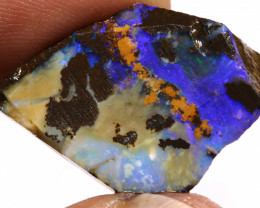 22.75 CTS BOULDER OPAL PRE SHAPED RUB ADO-7573