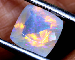1.80 CTS LIGHTNING RIDGE FACETED CRYSTAL OPAL TBO-A2625