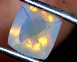 1.60 CTS LIGHTNING RIDGE FACETED CRYSTAL OPAL TBO-A 2627