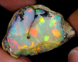 26cts Natural Ethiopian Welo Rough Opal / WR6594