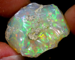 22cts Natural Ethiopian Welo Rough Opal / WR6552