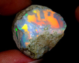 23cts Natural Ethiopian Welo Rough Opal / WR6580