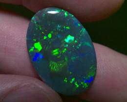 9.42cts Top Gem Lighting Ridge Black opal Collection CYC724