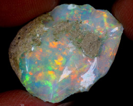 17cts Natural Ethiopian Welo Rough Opal / WR6623