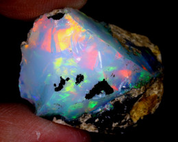 24cts Natural Ethiopian Welo Rough Opal / WR6628