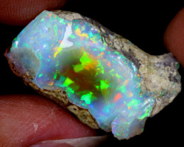 20cts Natural Ethiopian Welo Rough Opal / WR6634