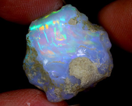 28cts Natural Ethiopian Welo Rough Opal / WR6636