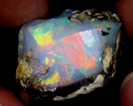 30cts Natural Ethiopian Welo Rough Opal / WR6642