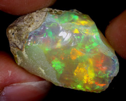 19cts Natural Ethiopian Welo Rough Opal / WR6644