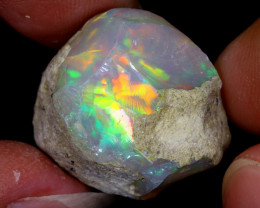 25cts Natural Ethiopian Welo Rough Opal / WR6671