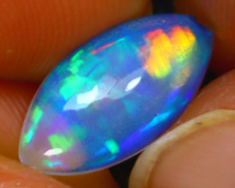 Welo Opal 1.40Ct Natural Ethiopian Play of Color Opal H2415/A57
