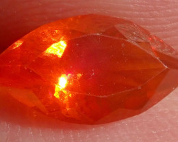 0.73ct Facetted Fire Opal
