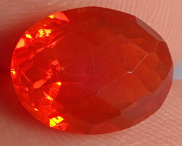 2.52ct Facetted Fire Opal