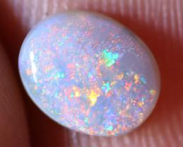 N6  0.65 carats  Dark Solid Opal Lightning Ridge ANO-1423