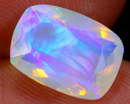 1.79cts Natural Ethiopian Faceted Welo Opal / BF5741
