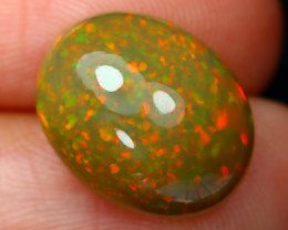 5.25Ct Stardust Pinfire Pattern Flash Color Welo Opal E2308