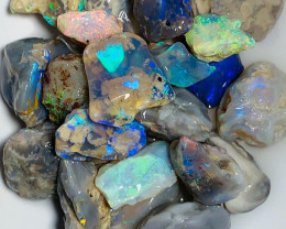 Multicolour Bright Rough Nobby Opals - Select to Cut & Carve