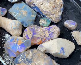 Nobby Opal Rough From Lightning Ridge