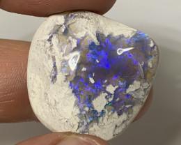 Large Gem Crystal Trapped in Matrix Specimen