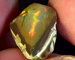 13.60 cts Ethiopian Welo CIRRUS polished dark opal N3 3,5/5