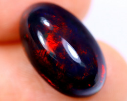 4.37cts Natural Ethiopian Welo Smoked Opal / HM2023