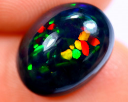 3.37cts Natural Ethiopian Welo Smoked Opal / HM2029