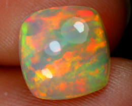 2.21Ct Rainbow Patchwork Pattern Rainbow Flash Color Welo Opal E2506