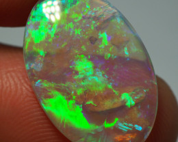 4.10CT  CRYSTAL OPAL FROM LIGHTNING RIDGE AA530