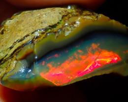 57.64ct NR Auction  Ethiopian Crystal Rough Opal Specimen