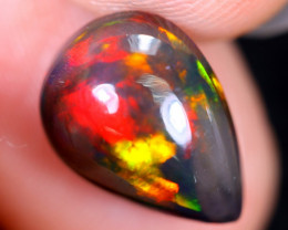 2.10cts Natural Ethiopian Welo Smoked Opal / HM2176