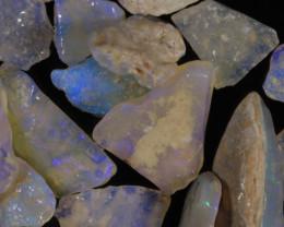 #7- White Cliffs  - Gamble Rough Opal -  [31776]