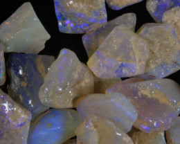 #7- White Cliffs  - Gamble Rough Opal -  [31777]