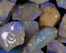 #7- White Cliffs  - Gamble Rough Opal - [31782]
