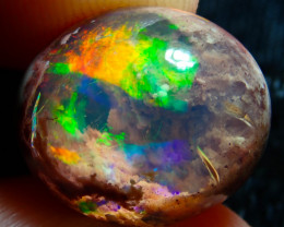 8.72ct Mexican Matrix Cantera Multicoloured Fire Opal