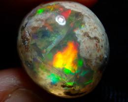 14.72ct Mexican Matrix Cantera Multicoloured Fire Opal