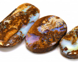 76.85 CTS BOULDER OPAL PIPE PRESHAPED RUB PARCEL DT-A4453