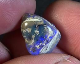 7.00 cts Australian Lightning Ridge polished crystal opal N9 3/5