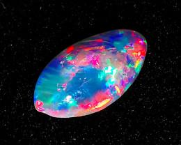 Lightning Ridge Australia - High Gem Grade Solid Crystal Opal - 0.44 cts