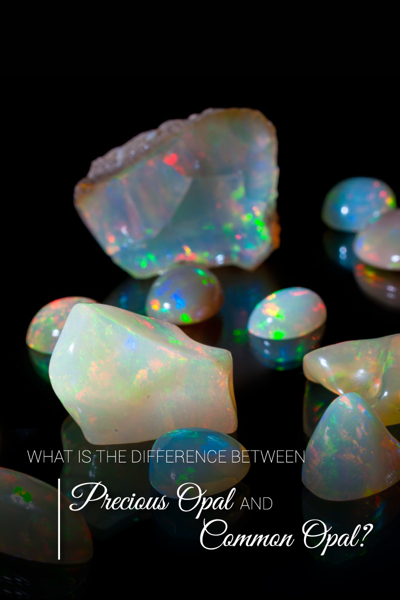 difference between precious opal and common opal