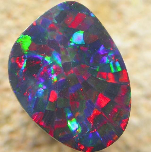 Harlequin opal pattern