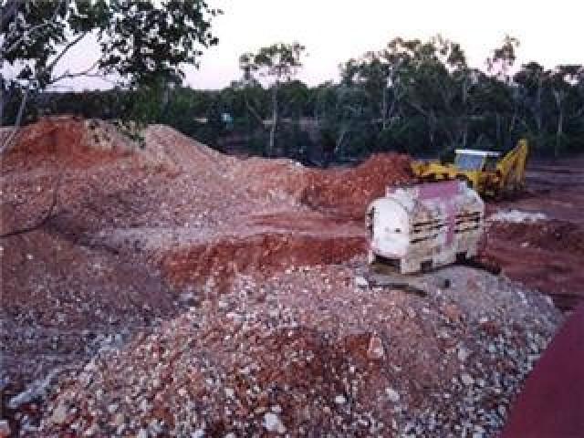 mining for boulder opal