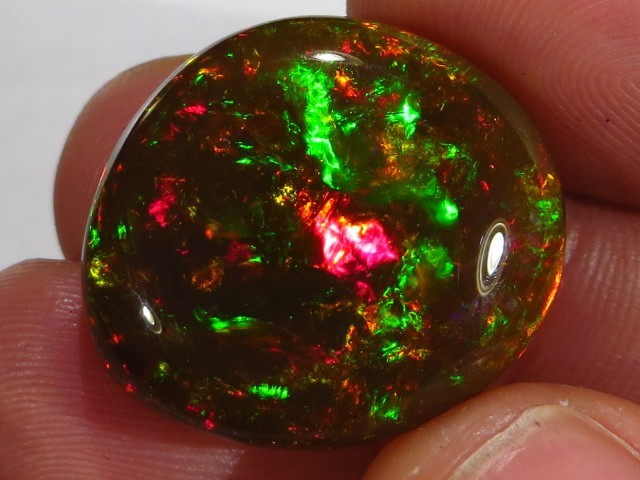 black ethiopian opal sold at auction